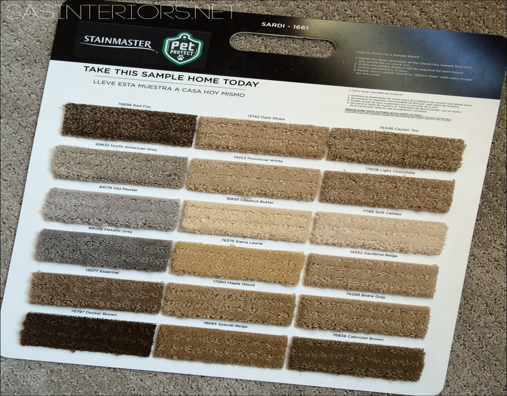 Possible Danger Signs On Stainmaster Pet Protect Carpet