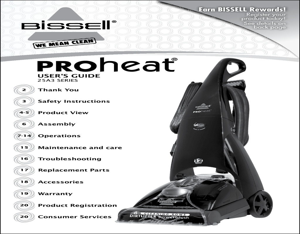 bissell-carpet-cleaner-instruction-manual Bissell Carpet Cleaner Instruction Manual