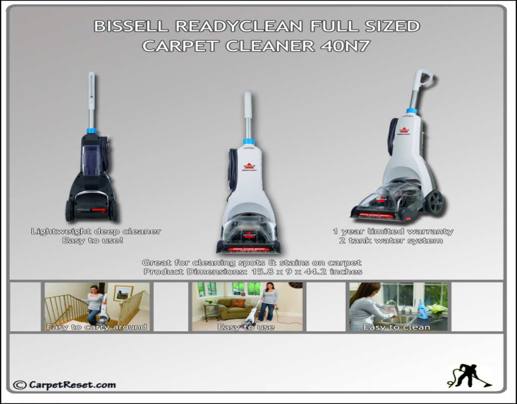 bissell-ready-clean-carpet-cleaner Bissell Ready Clean Carpet Cleaner
