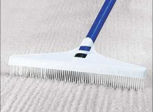 Carpet Rake For Long Hair