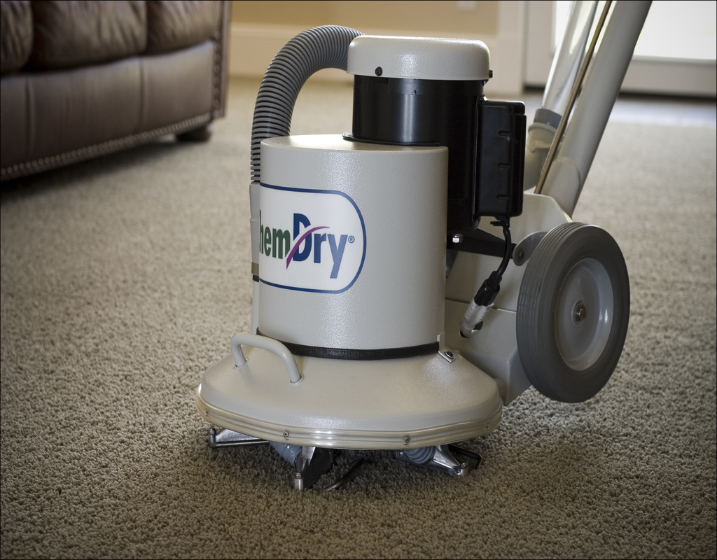 Dry Chemical Carpet Cleaning