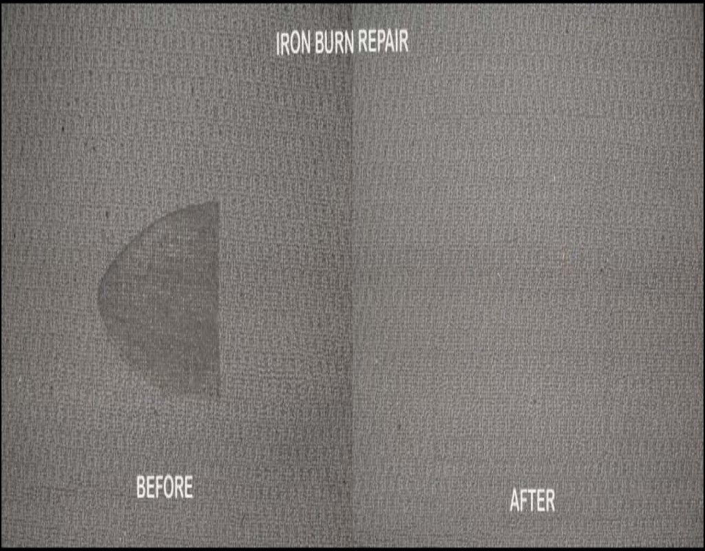 Iron Burn Carpet Repair