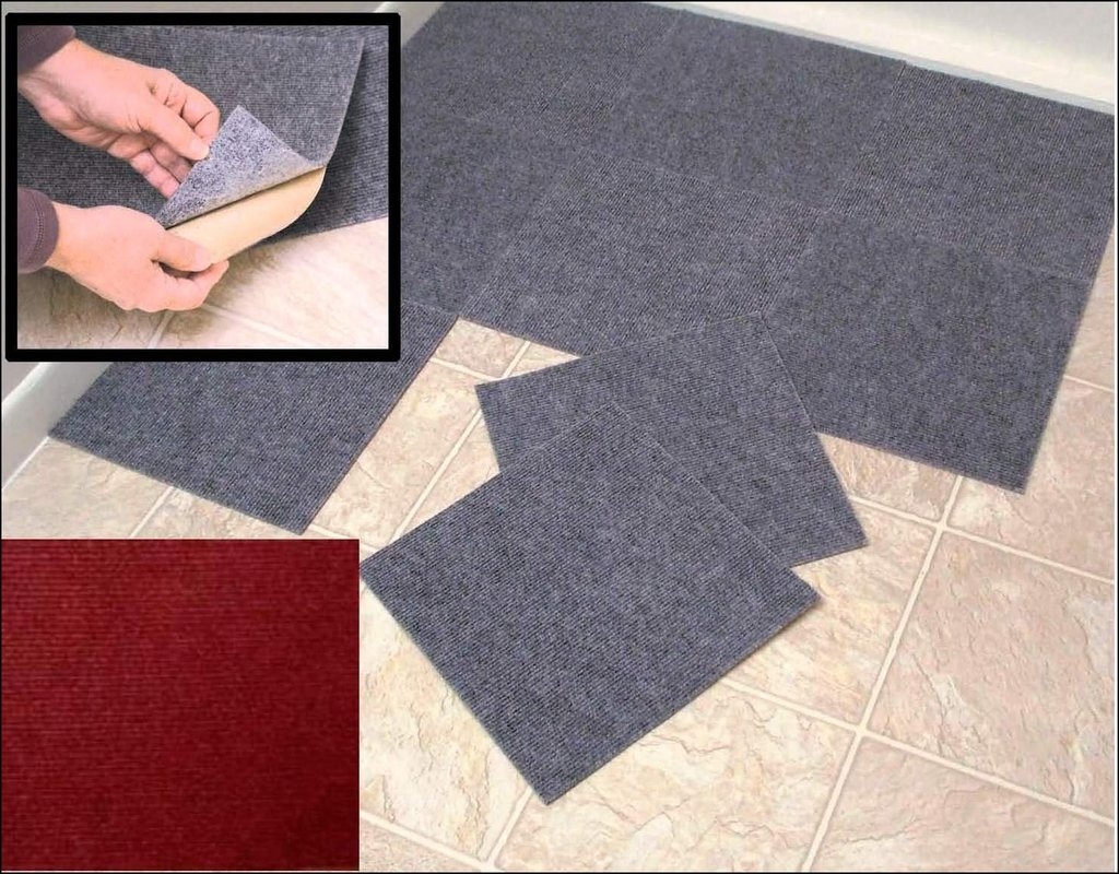 Peel And Stick Carpet Squares