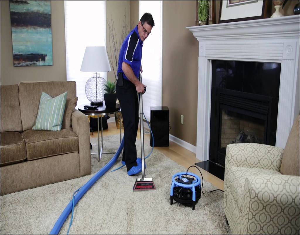 Steam Action Carpet Cleaning 1