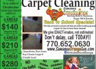 Atlanta Carpet Cleaning Specials