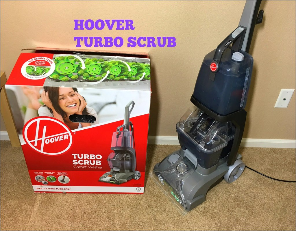 Hoover Turbo Scrub Carpet Washer Review