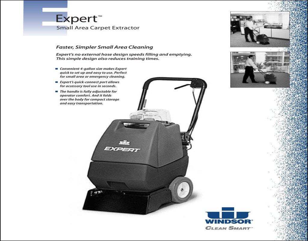 Windsor Expert Carpet Cleaner