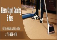 Carpet Cleaning Eau Claire Wi