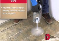 Carpet Glue Remover Concrete