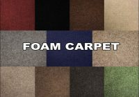 Foam Backed Carpet Suppliers