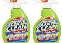 Oxy Clean Carpet Cleaning