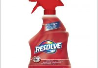 Resolve Carpet Cleaner Ingredients